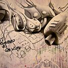 Ai Weiwei & Robbo by Amagoia  Akarregi