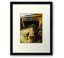 Generous Hearth Framed Print