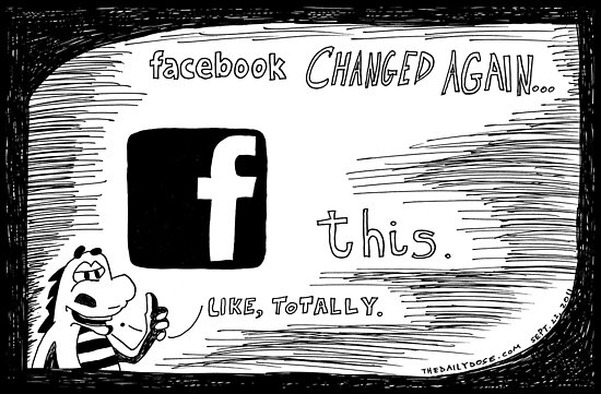facebook changed again f this by bubbleicious