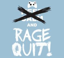 RAGE QUIT! The Xbox Version One Piece - Short Sleeve