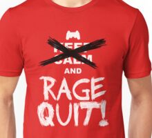 RAGE QUIT! The PS3 Version Unisex T-Shirt