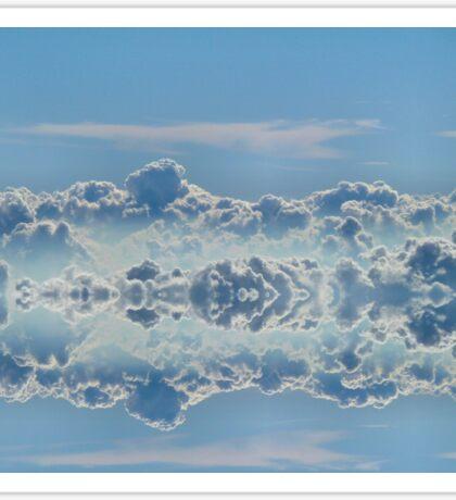 Cloudline symmetry Sticker