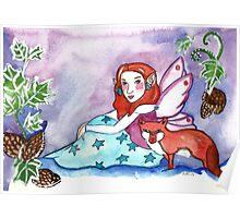 Fairy and a Fox Poster