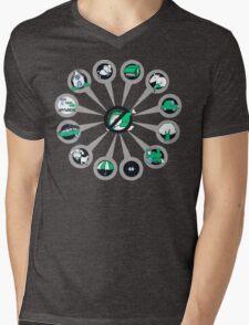 Where I Like Them - Green Eggs and Ham Mens V-Neck T-Shirt