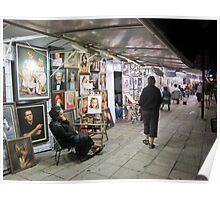 Street Artisits #2 Sunny Beach, Bulgaria. Poster