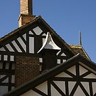Tudor Style House by Sue Leonard