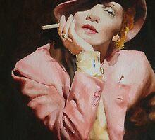 Marlene Dietrich by David McEwen