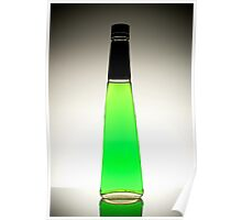 Green Liqueur Poster