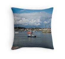 Conwy Harbour, North Wales Throw Pillow