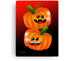 SAVAGE PUMPKINS Canvas Print