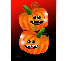 SAVAGE PUMPKINS Photographic Print