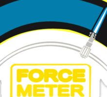 The Force o meter Sticker