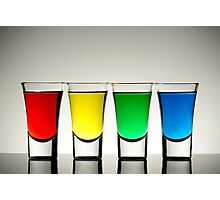 Shot Glasses Photographic Print