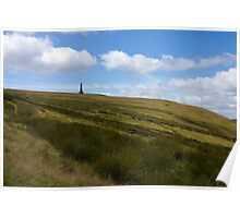 Stoodley Pike Monument, West Yorkshire Poster
