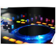 DJ Mixer Poster