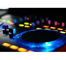 DJ Mixer Photographic Print