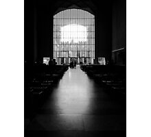 The West Screen - Coventry Cathedral Photographic Print
