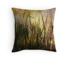All the Pretty Cat Tails Throw Pillow