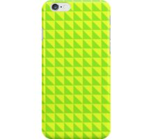 Yellow-Green pattern iPhone Case/Skin