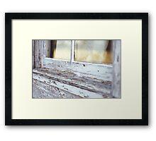 Aged Window Framed Print