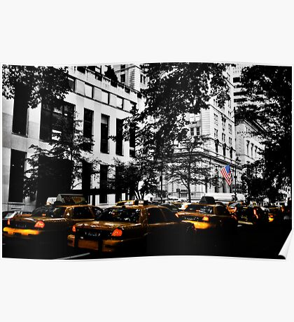 NYC Cabs Poster