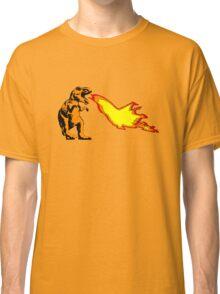 Dinosaur - Orange Classic T-Shirt