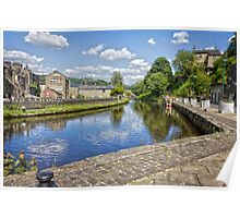 The Rochdale Canal Poster