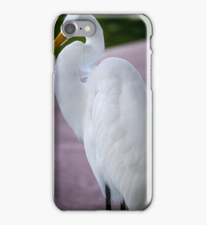 Egret Profile iPhone Case/Skin