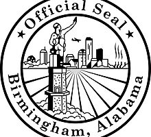 Birmingham Alabama City Seal Sticker by ukedward