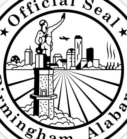 Birmingham Alabama City Seal Sticker Sticker
