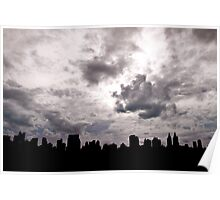 NYC cityskape from Central Park Poster