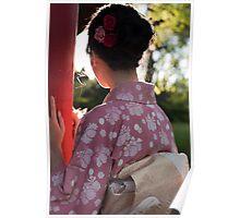 Sunny Kimono Poster