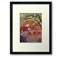 The Water Shepherd Framed Print