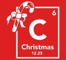 Chemistry of Christmas - Geeky Christmas Shirt Kids Tee