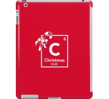 Chemistry of Christmas - Geeky Christmas Shirt iPad Case/Skin