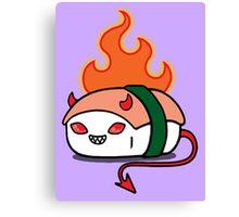 Sushi Demon Series1: Spicy Devil Tuna Canvas Print