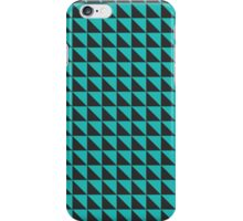 Green-grey pattern iPhone Case/Skin