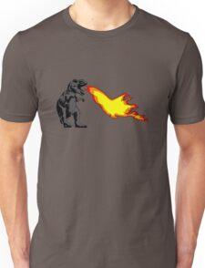 Dinosaur - Gray Unisex T-Shirt