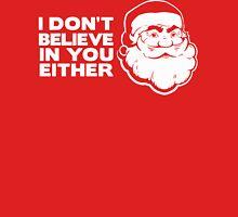 Disbelieving Santa - Funny Christmas Shirt Unisex T-Shirt