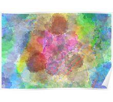 Color Splotch Poster