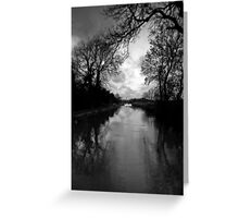 On the River Greeting Card