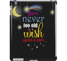 Never too old iPad Case/Skin