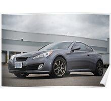 Hyundai Genesis Coupe 2.0T Poster