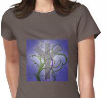 Algiz Rune from the Elder Futhark Womens Fitted T-Shirt