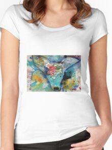 Headdress Women's Fitted Scoop T-Shirt