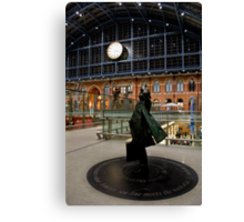 Who Saved This Glorious Station Canvas Print