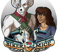 Biker Mice From Mars - Vinnie and Charley by forsty