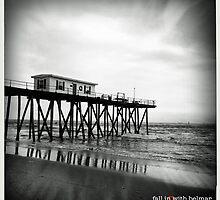 dark pier by Phlite