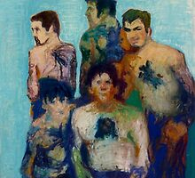 Borstal boys tattoo club by Galya Pillin-Tarmu