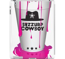 Sizzurp Cowboy iPad Case/Skin